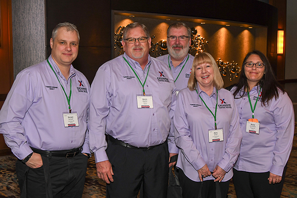 Central Region managers enjoy a break at the MSM/GM Conference near Dallas.