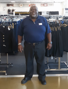 """Military Clothing Store Manager Willie Davis told the family, """"Come on down."""""""