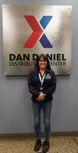 Melissa Cooper, loss prevention manager at the Dan Daniel Distribution Center