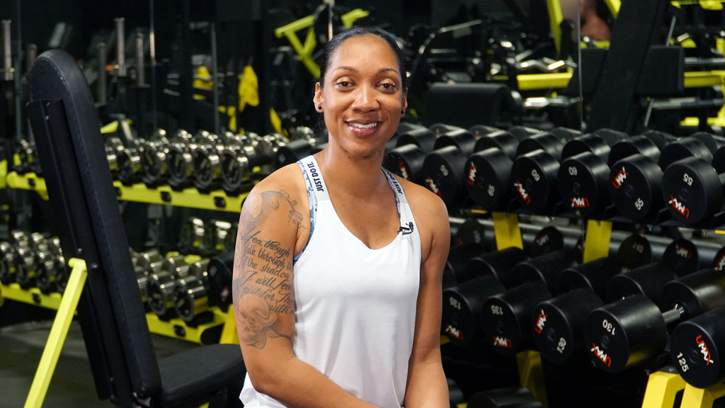 """""""Fitness has become the forefront of my life,"""" says Sgt. 1st Class Sherille Butler, the Exchange's new BE FIT influencer."""