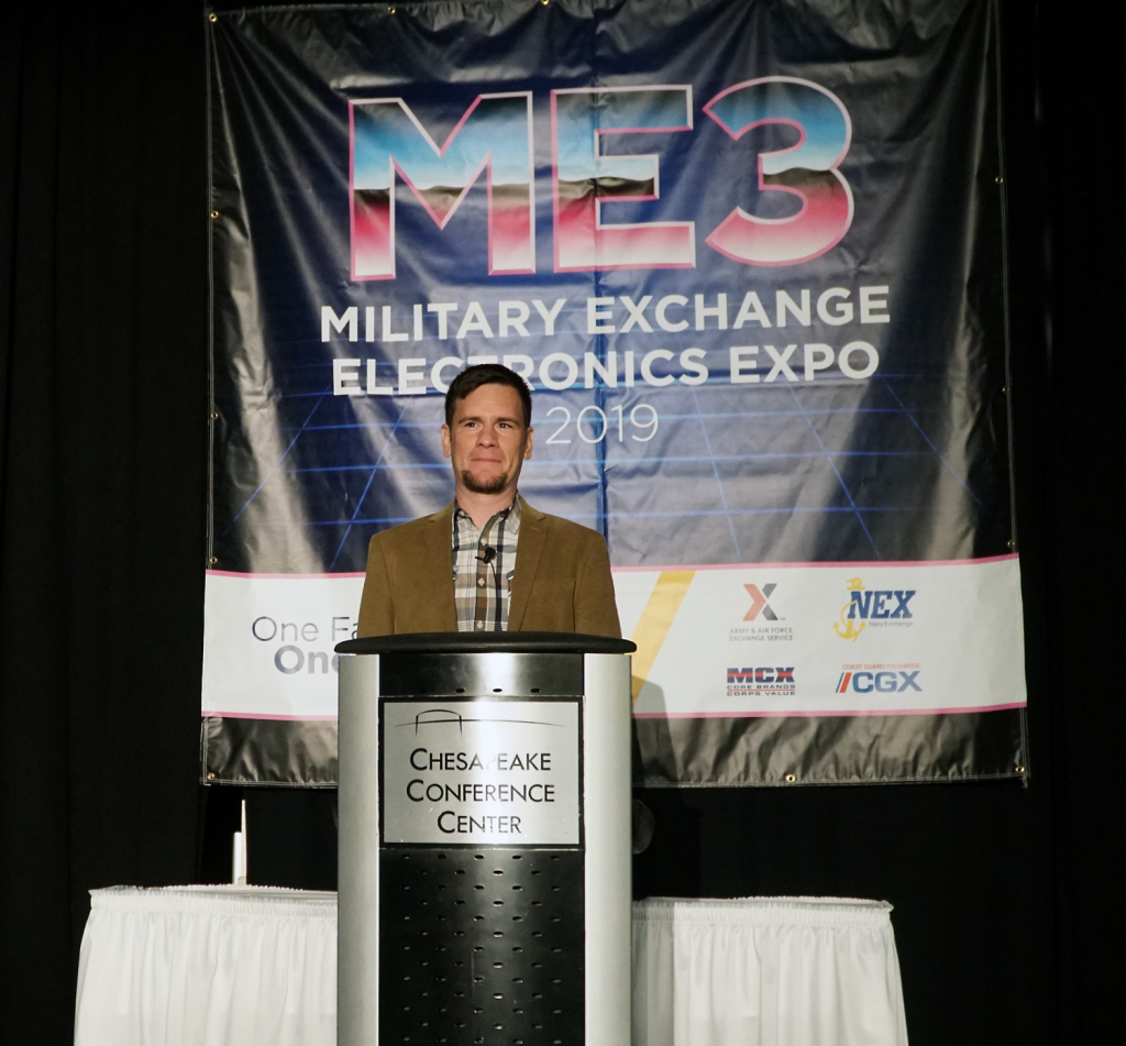 """This year's expo is a milestone,"" said Divisional Merchandise Manager Randy McKinley. ""The exchanges have a history of working together for the good for the military community . . ."""