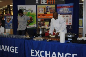 Healthy Base Initiative kick-off event Fort Bragg - Chef Jerome Brown