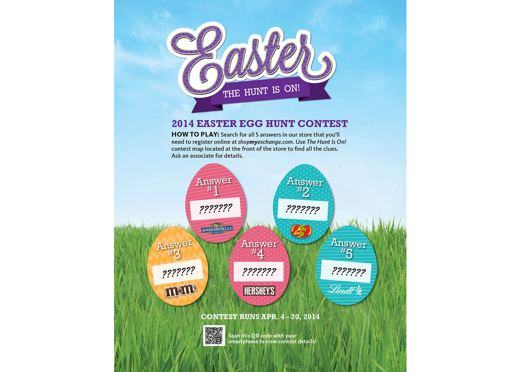 Press releases blog archive exchange shoppers are in the hunt exchange shoppers are in the hunt for 3000 in gift cards in easter contest negle Gallery
