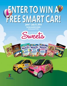 Smart car sweepstakes