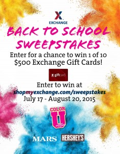 Hershey and mars bts sweepstakes poster