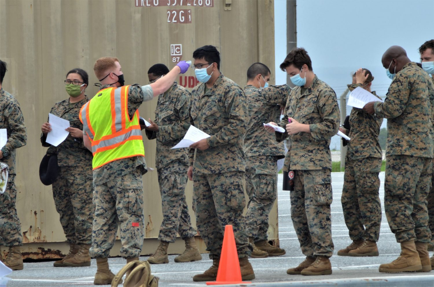 From Guam to Okinawa, the Exchange Supports Medical Task Force during COVID-19