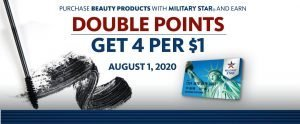 Beauty Double Point One Day Only