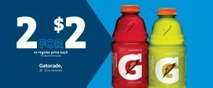 Express - Gatorade 2/$2