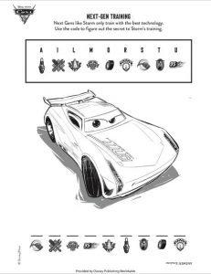 Cars Next-Gen Activity