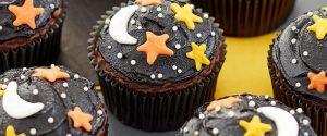 Night Sky Cupcakes