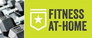 Fitness at-home banner