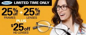 Optical Centers February Promotion