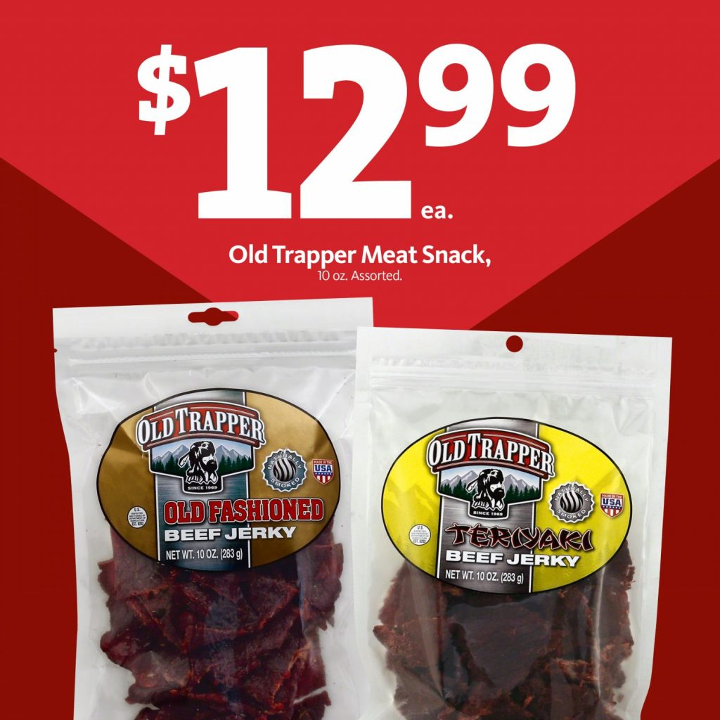 Express - Old Trapper Beef Jerky $12.99