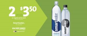 Express - Be Fit smartwater 2/$3.50