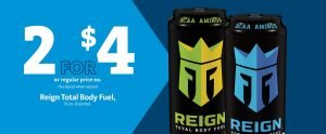 Express - Reign Total Body Fuel 2/$4