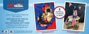 2021 Patriot Pet Photo Contest