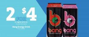 Express - Bang Energy Drinks 2/$4