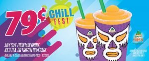 Express - Chill Fest Beverages 79¢