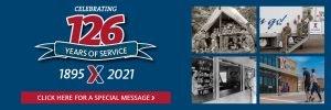 Happy 126 Anniversary