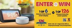 Amazon Echo Sweepstakes