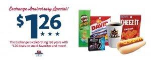 Express - $1.26 Anniversary Specials