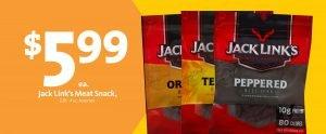 Express - Jack Link's Jerky $5.99