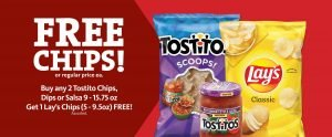 Express - Free Chips with Purchase
