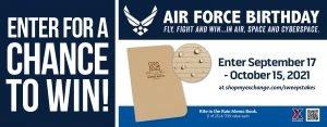 Air Force Birthday Memo Book