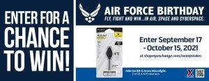 Air Force Birthday Microlight Sweepstakes