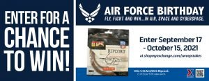 Air Force Birthday Ripcord Sweepstakes