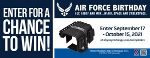 Air Force Birthday Kneepads Sweepstakes