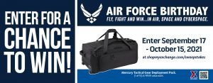 Air Force Birthday Deployment Pack Sweepstakes