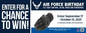 Air Force Birthday MPT Gloves Sweepstakes