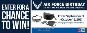 Air Force Birthday Sawfly Eyewear Sweepstakes