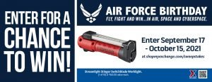 Air Force Birthday Worklight Sweepstakes
