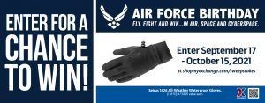 Air Force Birthday All Weather Gloves