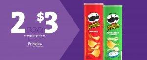 Express - Pringles 2/$3