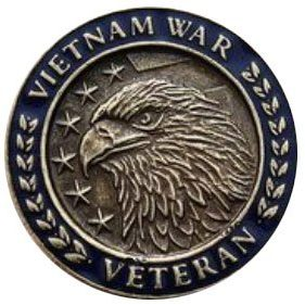 Vietnam War Veteran Pin