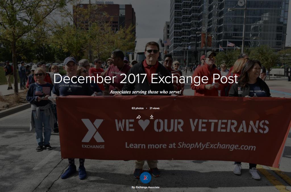 December 2017 Exchange Post