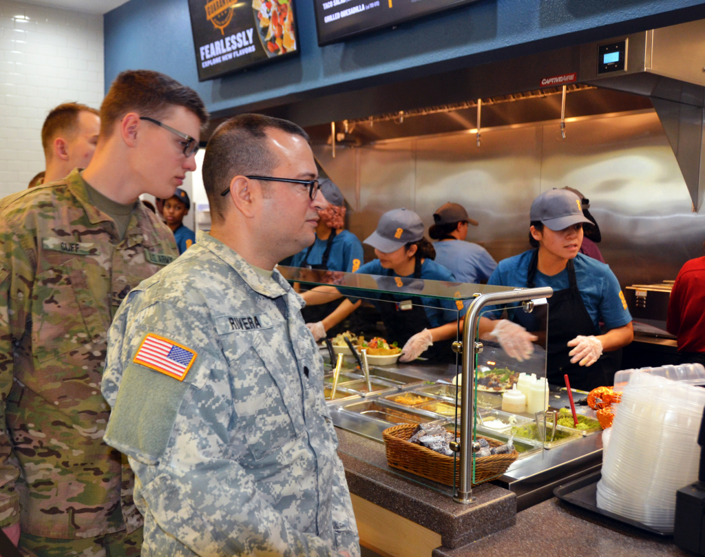 Fort Hood's Qdoba provides tasty better-for-you options to service members.