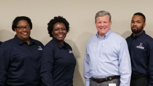 Director/CEO Tom Shull with Exchange Associates - Retail Management Training