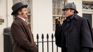 """In """"Holmes & Watson,"""" Will Ferrell and John C. Reilly, are reunited—this time playing the world's greatest consulting detective and his loyal biographer."""