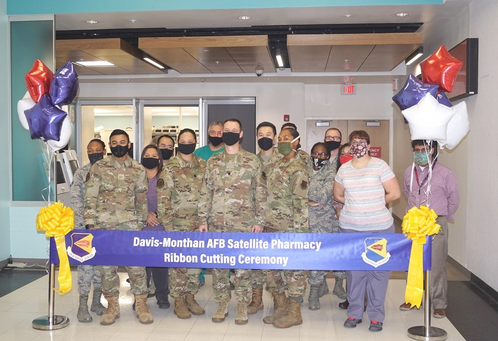 3555th Medical Command at Davis-Monthan pharmacy