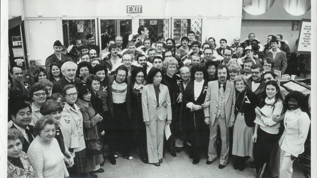 Associates at Germany's Hainerberg shopping center greeted recently freed American hostages as they came to shop for two hours.
