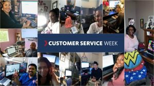 The Exchange contact center and escalations teams will celebrate Customer Service Week Oct. 7 with a virtual celebration featuring games, giveaways and more.