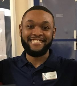 Terrence Carter is a customer experience associate at the Fort Bragg Exchange.