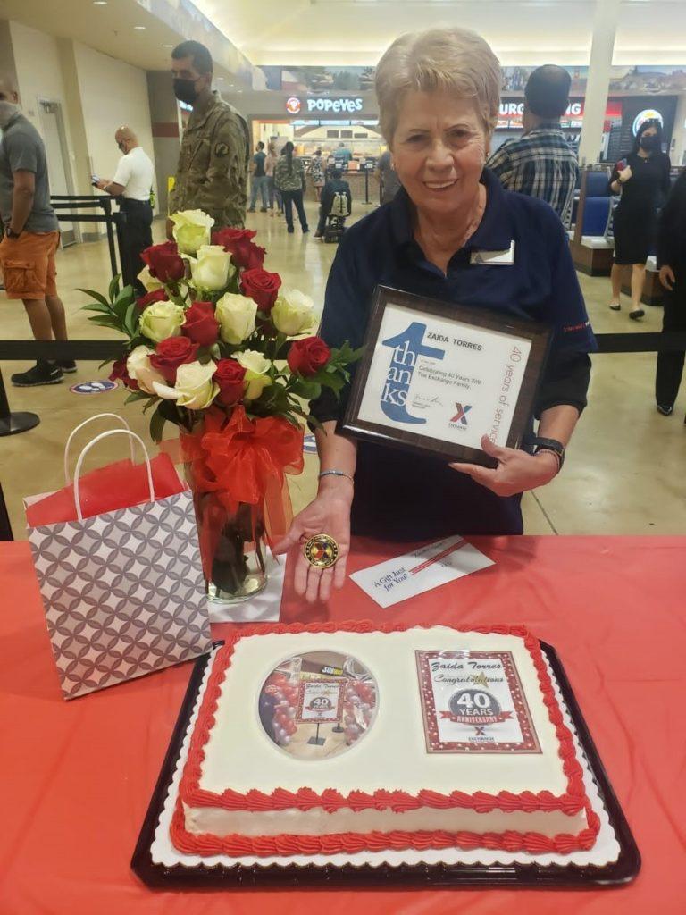 Zaida Torres service award